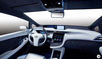 トヨタから2015年の発売を示唆する燃料電池自動車「FCV-R」が登場! TOYOTA 03
