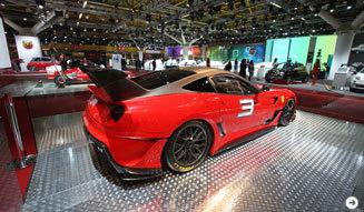 フェラーリ 599XXのエボリューションパッケージを世界初公開|Ferrari|03