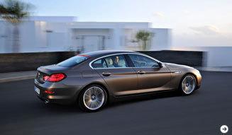 4ドアクーペ BMW 6シリーズ グラン クーペ発表! BMW 02