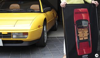 ミラノで「再会した」というポスター