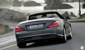 Mercedes-Benz|新型SLクラスを公開04