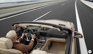 Mercedes-Benz|新型SLクラスを公開02