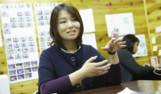 「ハタチ基金」代表幹事の今村久美さん