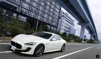清水久美子が最強のマセラティに試乗 Maserati 02