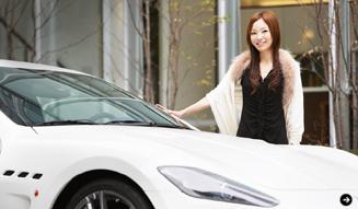 清水久美子が最強のマセラティに試乗 Maserati 06