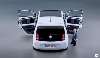 up!の5ドア版が市場投入間近|Volkswagen 02