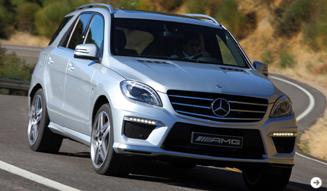 メルセデス・ベンツ ML63AMG|Mercedes-Benz 02