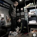 パーソナルカスタマイズシューズ「mi adidas」をオーダー!