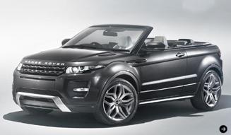 イヴォーク コンバーチブル コンセプト ジュネーブモーターショーに登場|Range Rover 02
