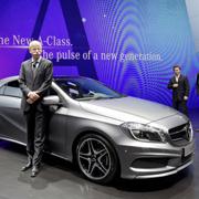 新型Aクラス出撃準備完了 Mercedes-Benz