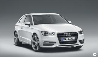 アウディA3公開|Audi 01