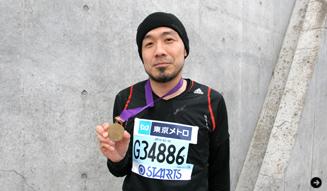 松浦俊夫、東京マラソン完走! 振り返る、チャレンジの軌跡 05