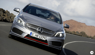 新型Aクラス出撃準備完了|Mercedes-Benz 02