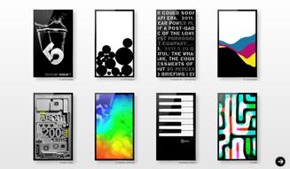 デジタルアート,FRAMED,LED,3