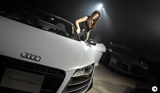 R8スパイダーの限定バージョン「R8 GT スパイダー」|Audi 03