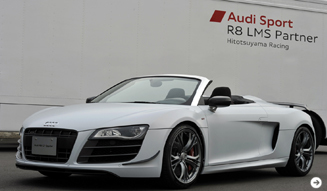 R8スパイダーの限定バージョン「R8 GT スパイダー」|Audi 04