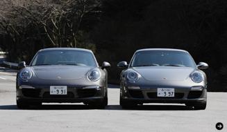清水久美子のポルシェ911体験 Porsche 02
