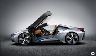 i8コンセプトにスパイダーが登場|BMW 02