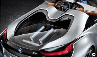 i8コンセプトにスパイダーが登場|BMW 03