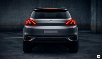 プジョー アーバンクロスオーバーコンセプトを出展|Peugeot