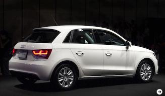 A1スポーツバック販売開始 Audi