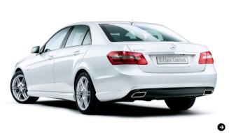 Eクラスセダンに特別限定車が登場 Mercedes-Benz