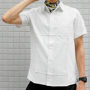Folded Half Sleeve Shirt