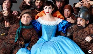 白雪姫と鏡の女王 衣装展示 03