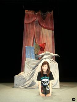 戸田恵子 舞台上