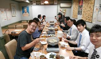 戸田恵子 食事会