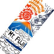 富士登山「絆」フォトコンテスト|てぬぐい