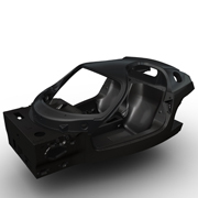 フェラーリが次期スペシャルモデルのシャシーを初公開