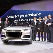 パリ現地リポート|Audi crosslane coupe