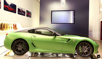 Carbon Composite Chassis|Ferrari