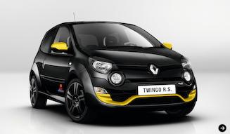 Renault Twingo R.S. Redbull Racing RB7|トゥインゴ R.S. レッドブル・レーシング RB7