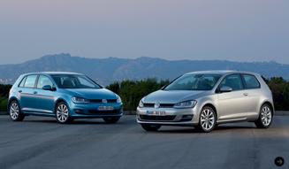 Volkswagen Golf|フォルクスワーゲン ゴルフ 2012年に発表された7代目「ゴルフ」