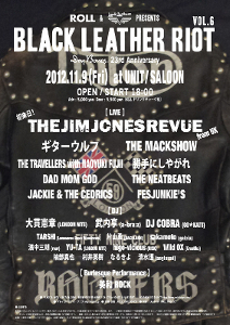 ROLL & Lewis Leathers PRESENTS BLACK LEATHER RIOT Vol.6  Dry Bones 23rd Anniversary