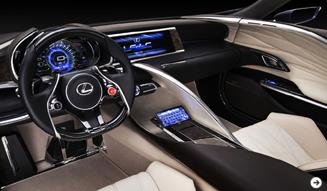 Lexus LF-LC Blue レクサス LF-LC ブルー