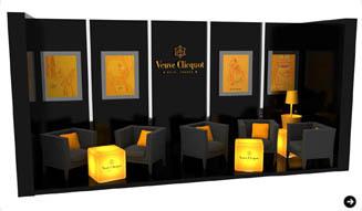 EAT|Veuve Clicquot|最上品質のシャンパーニュを気軽に楽しめる 「ヴーヴ・クリコ ラウンジ」02