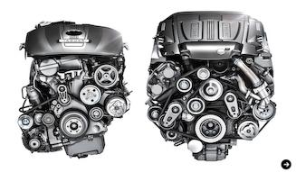 Jaguar XF・XJ|ジャガー XF・XJ ダウンサイジングエンジン