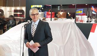 フィアットクライスラージャパン 代表取締役社長 兼 CEOポンタス・ヘグストロム氏