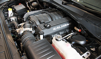 6.4リッターHEMIエンジン