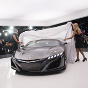 NSXコンセプトが進化して登場|Honda