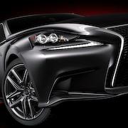 レクサスIS、デビューに先駆けて写真公開|Lexus