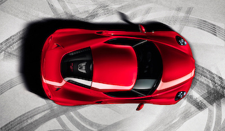 Alfa Romeo 4C アルファ・ロメオ 4C
