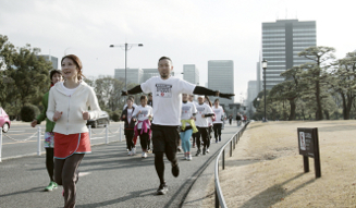 Run for Children Tohoku in adidas RUNBASE 2013|02