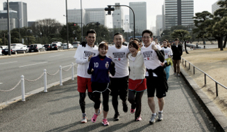 Run for Children Tohoku in adidas RUNBASE 2013|03