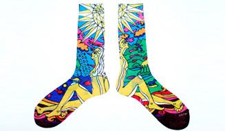 福助 × more trees モア・トゥリーズに賛同するクリエイター5名と協業した靴下を発表!06