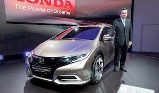 HONDA Civic Tourer Concept|ホンダ シビック ツアラー コンセプト
