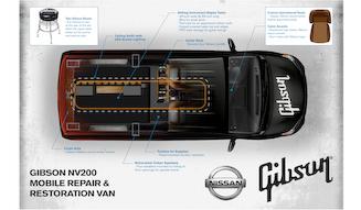 Nissan Gibson NV200 Mobile Repair & Restoration Van|ギブソン NV200 モバイル リペア&レストレーション バン
